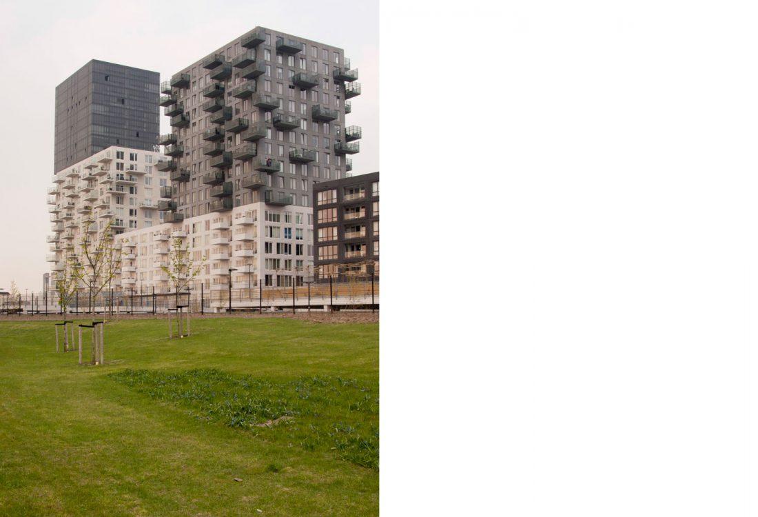 woningbouw complex