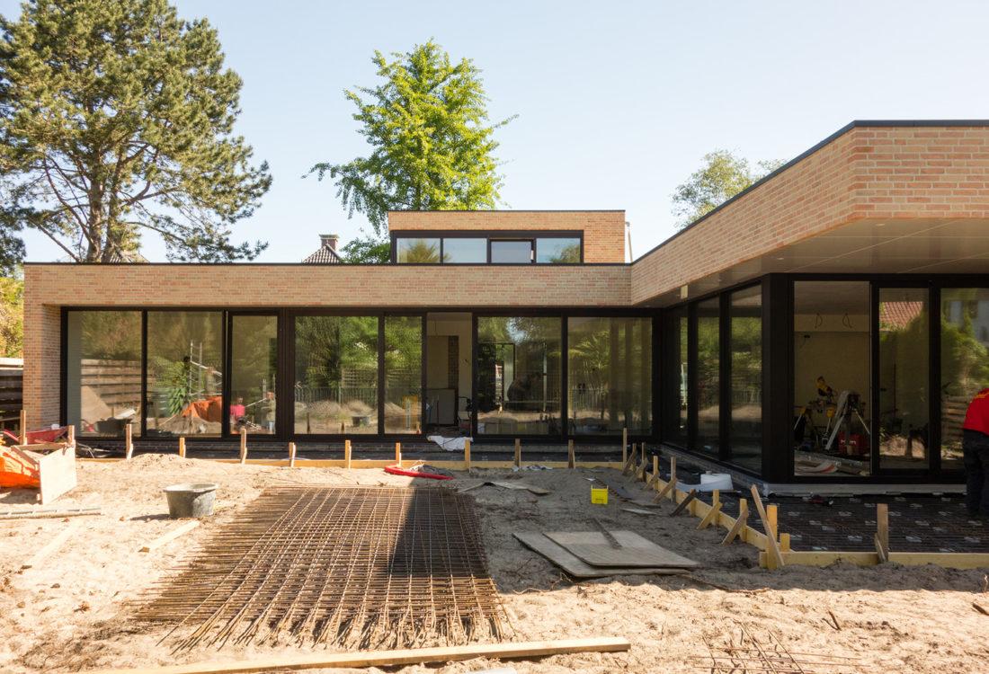 Villa verbouwing aanbouw